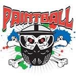 Paintball Skull and Cross Bones