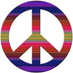 Groovy Hippy Peace Sign