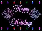 3D Happy Holidays