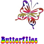 Retro Butterflies!