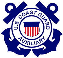 <P>Coast Guard Auxiliary<BR> Logo