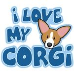 Love Pembroke Welsh Corgi Kawaii
