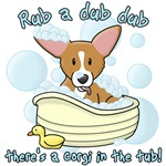 Rub a Dub Dub Corgi