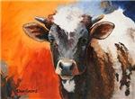 Western Artwork Cows