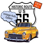 Route 66 & 101 Classic Cars T-shirts & Gifts