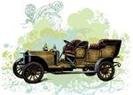 Vintage 1900s Touring Car