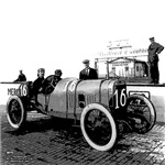 Vintage 1909 Race Car