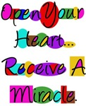 OPEN YOUR HEART...