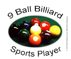 9 Ball Billiard Sports Player T-shirts And Gifts