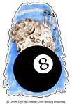 8 Ball Wild Buffalo Billiard Tees For Pool Players