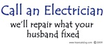 Call an electrician