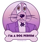 I'm a Dog Person - Purples / Pinks