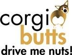 Corgi Butts Drive Me Nuts - Sable