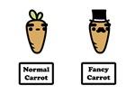 Normal Carrot, Fancy Carrot