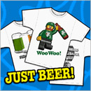 JUST BEER SHIRTS (section)