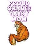 Proud Orange Tabby Mom