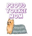 Proud Yorkie Mom