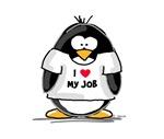 I Love My Job Penguin