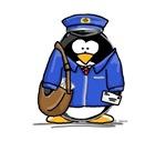 Mail Carrier Penguin