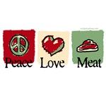 Peace, love, meat