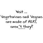 Vegetarian vegan meat funny