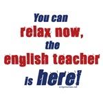 Relax, English teacher here