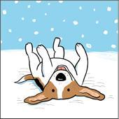 Let it Snow Beagle