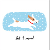 Jack Russell Terrier Let It Snow