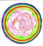 Heart Chakra Flower Mandala