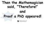 Mathemagician PhD