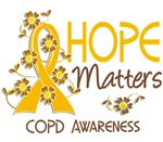 Hope Matters 3 COPD Shirts and Apparel