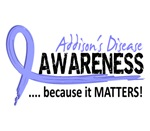 Awareness 2 Addison's Shirts & Merchandise