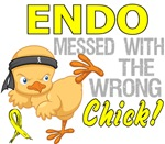 Messed With Wrong Chick 3 Endometriosis Gifts
