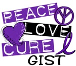 Peace Love Cure 1 GIST Shirts and Gifts