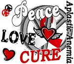 Peace Love Cure 2 Aplastic Anemia T-Shirts