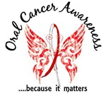 Butterfly 6.1 Oral Cancer Gifts