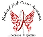Butterfly 6.1 Head Neck Cancer Gifts