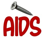 """""""Screw"""" AIDS T-Shirts, Gifts, & Apparel"""