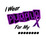 I Wear Purple 8 Cystic Fibrosis Shirts & Gifts