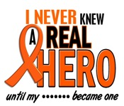 Never Knew A Real Hero 2 MS Shirts