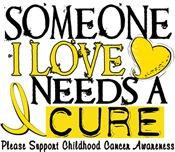 Needs A Cure CHILDHOOD CANCER Shirts & Gifts