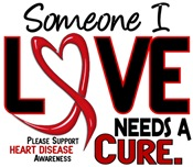 Needs A Cure Heart Disease Shirts Clothing Gifts