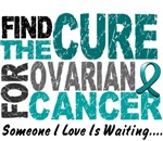 Find The Cure 1 OVARIAN CANCER T-Shirts & Gifts