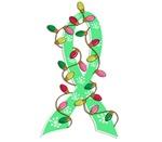 Christmas Lights Ribbon Celiac Disease Gifts