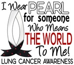 Means World To Me 1 Lung Cancer Shirts