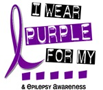 I Wear Purple 37 Epilepsy Shirts and Apparel