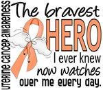 Bravest Hero I Knew Uterine Cancer Gifts