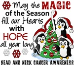 Head and Neck Cancer Christmas Cards and Gifts