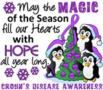 Crohn's Disease Christmas Cards and Gifts