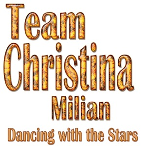 Team Christina Milian Dancing with the Stars